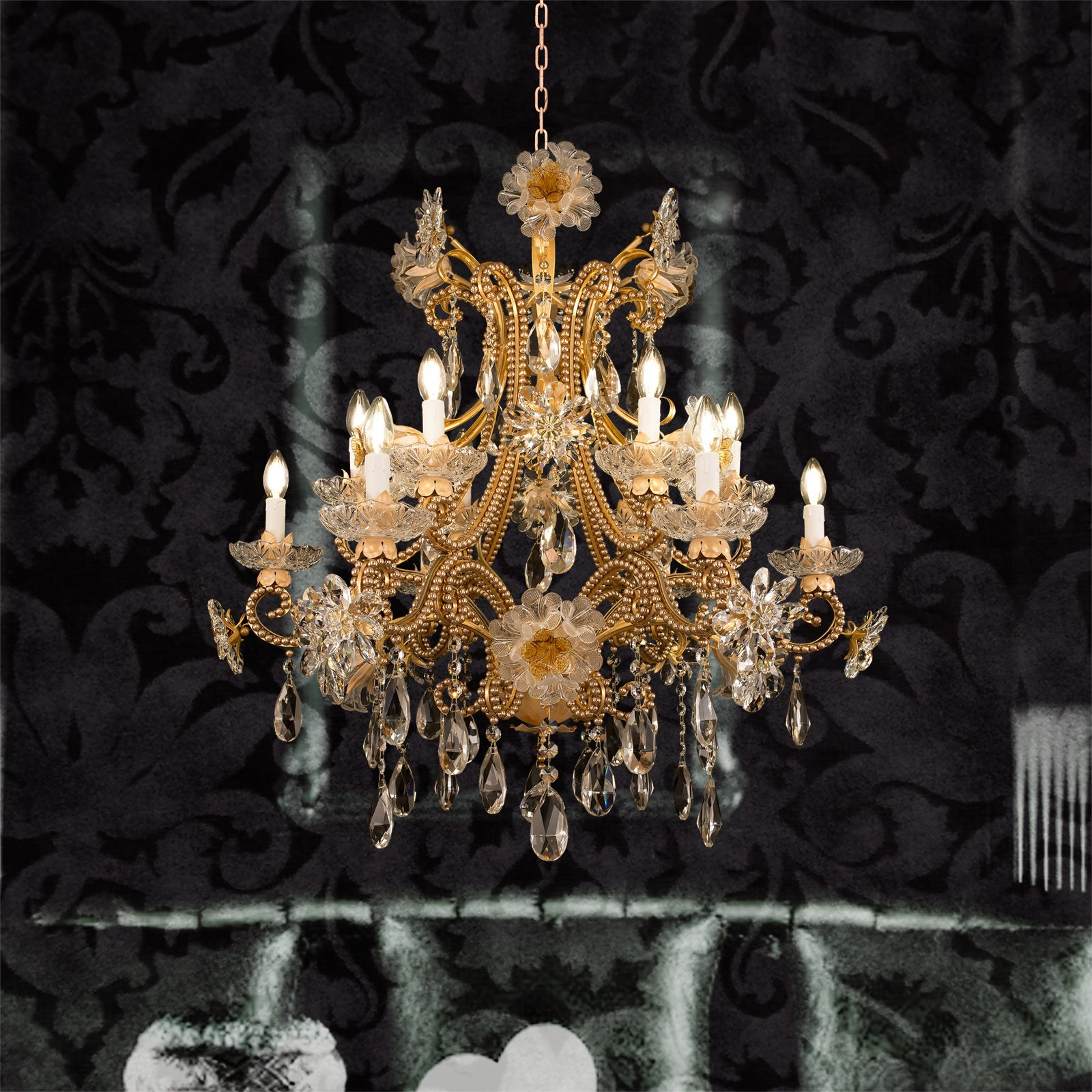 Chandeliers handmade in florence italy since 1970 by mechini new items 2018 collection arubaitofo Images